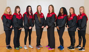 Women's Track Roster