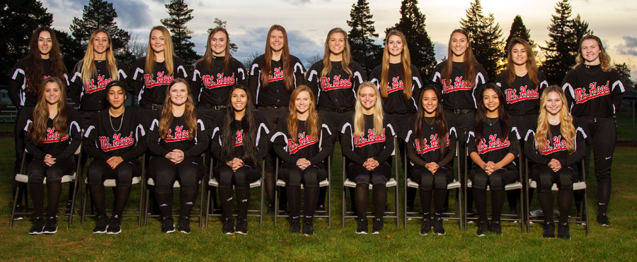 Softball Roster 2018