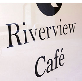 The Riverview Cafe