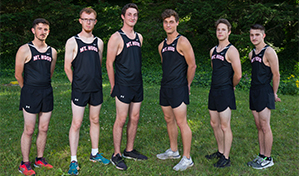 Men's Cross Country Team 2019
