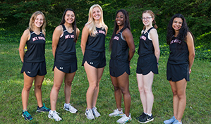 Women's Cross Country Team 2019